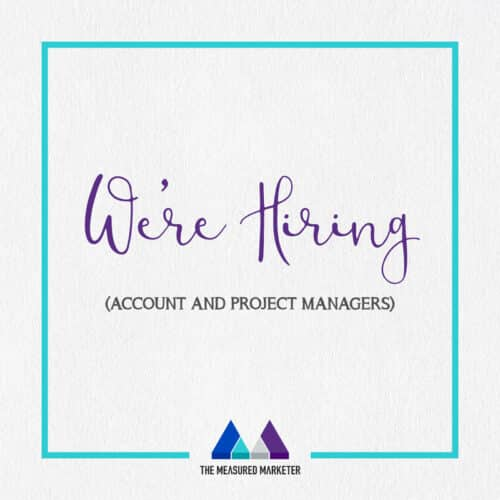 Apply for an Account Manager role with TMM