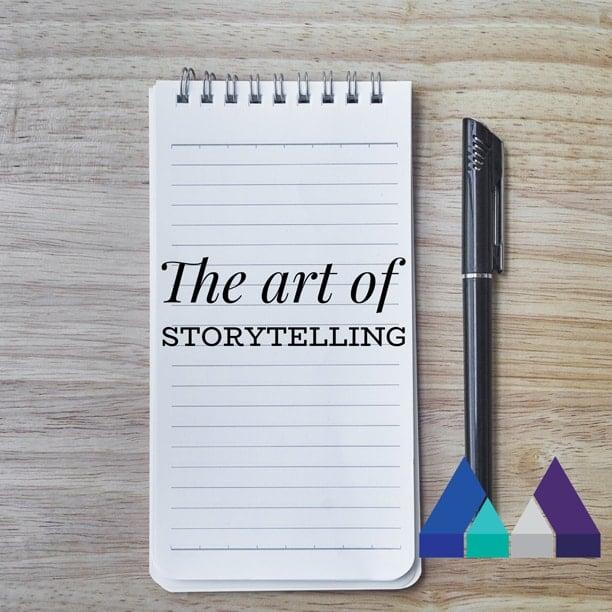 art of storytelling linkedIn article