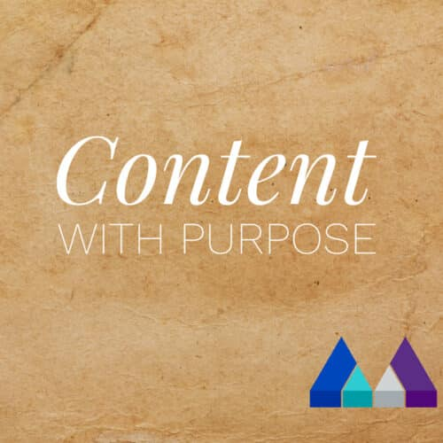 Content with purpose- The Measured Marketer