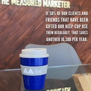 clients The Measured Marketer use keep cups