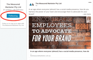 The Measured Marketer Social Media LinkedIn