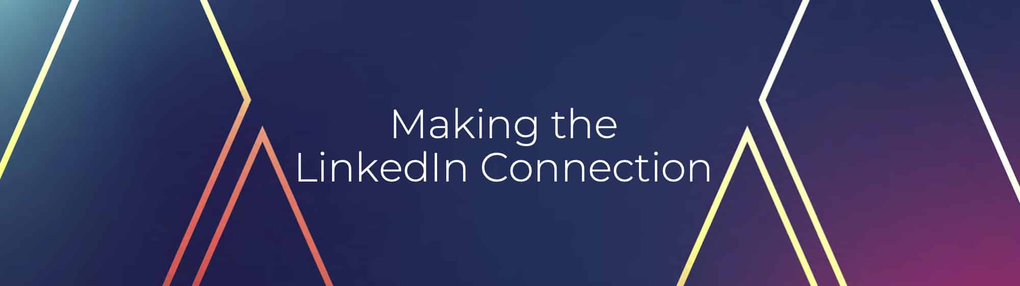 Making the LinkedIn Connection Ebook - The Measured Marketer Popup Banner